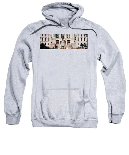 Governor Oliver Morton Monument Sweatshirt