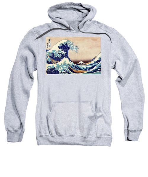 Great Wave Off Kanagawa Sweatshirt