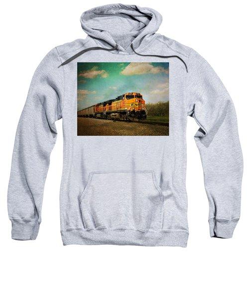 Hear The Train A Coming Sweatshirt