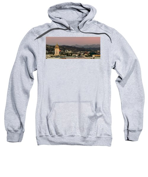 High Angle View Of A City, Beverly Sweatshirt