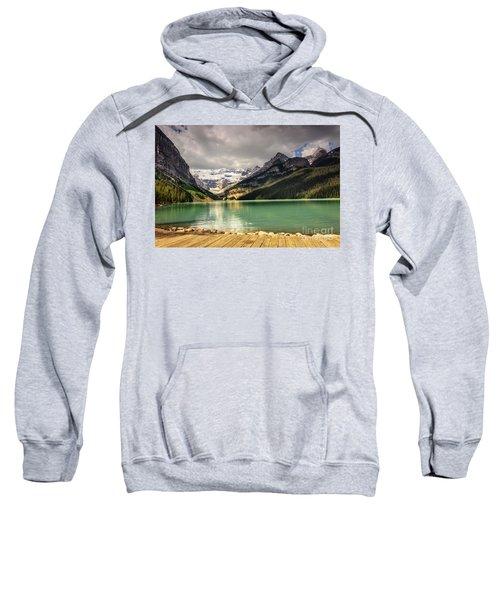 View Of Lake Louise Sweatshirt