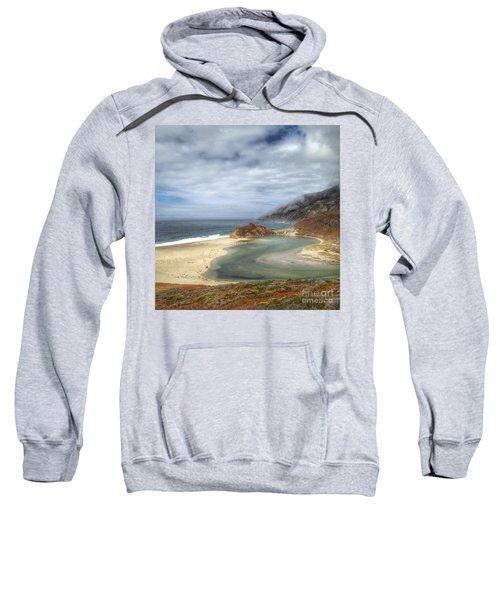Little Sur River In Big Sur Sweatshirt