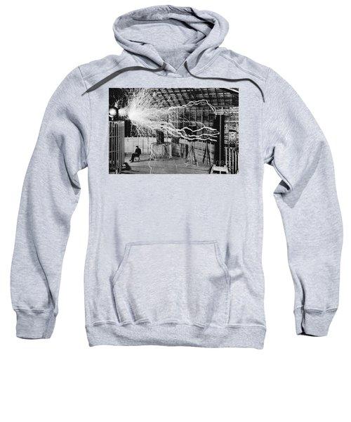 Nikola Tesla Serbian-american Inventor Sweatshirt