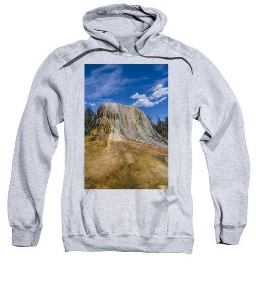 Orange Spring Mound Yellowstone National Park Sweatshirt
