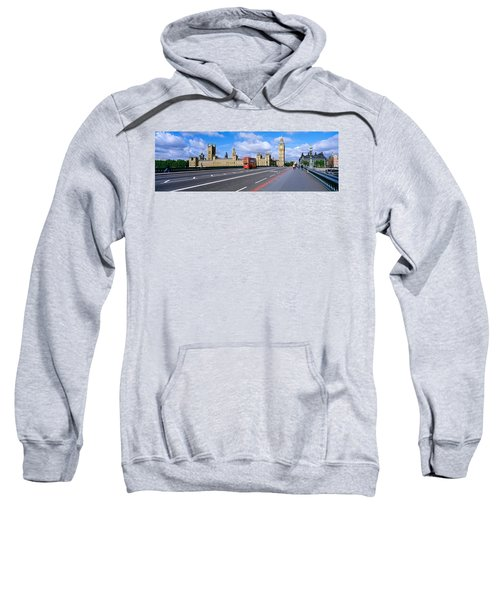 Parliament Big Ben London England Sweatshirt by Panoramic Images