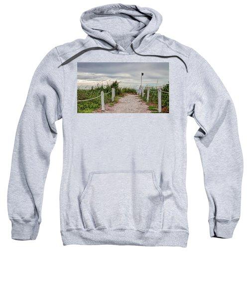 Pathway To The Beach Sweatshirt