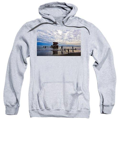 Peter Iredale Shipwreck, Fort Stevens Sweatshirt