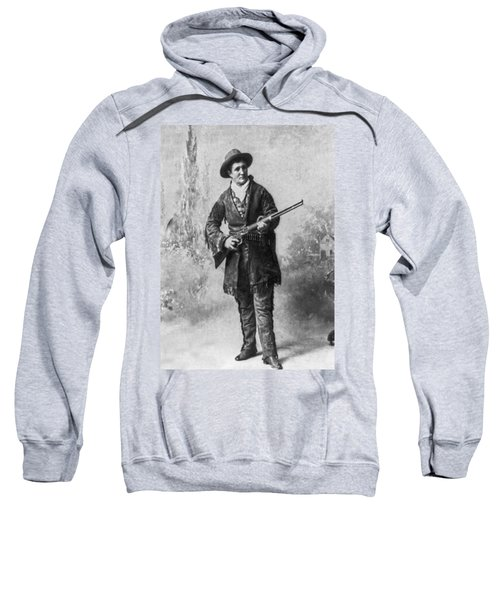 Portrait Of Calamity Jane Sweatshirt by Underwood Archives