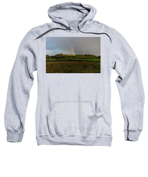 Rainbows Over The Mountain Sweatshirt