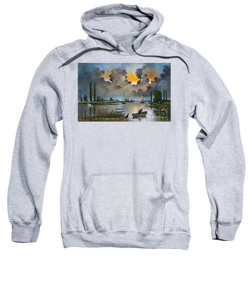 River Yare On The Broads Sweatshirt