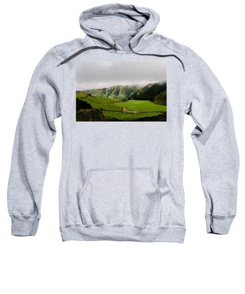 Road Over Valley Sweatshirt