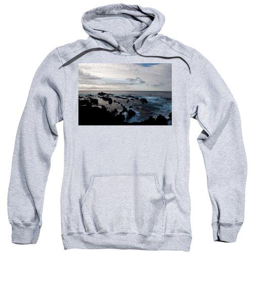 Rocky Beach At Dusk  Sweatshirt
