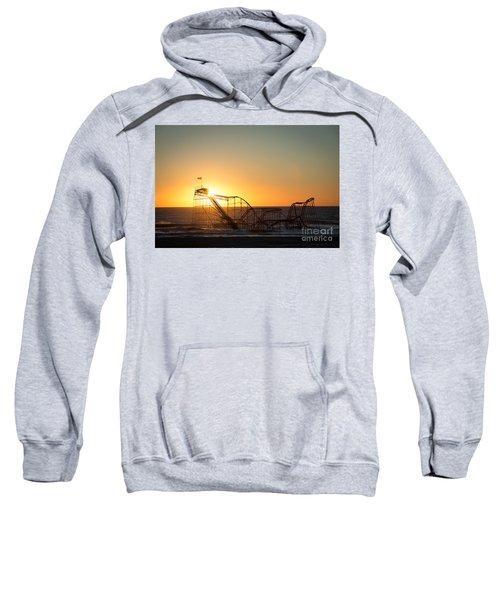 Roller Coaster Sunrise Sweatshirt