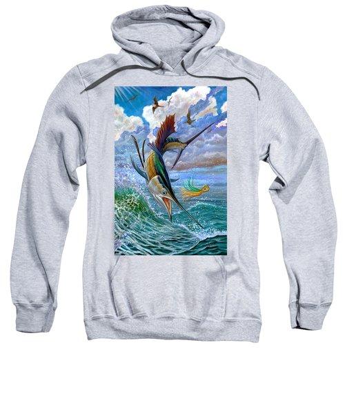 Sailfish And Lure Sweatshirt