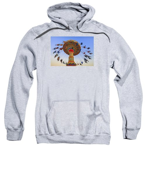 Santa Cruz Seaswing At Sunset 7 Sweatshirt