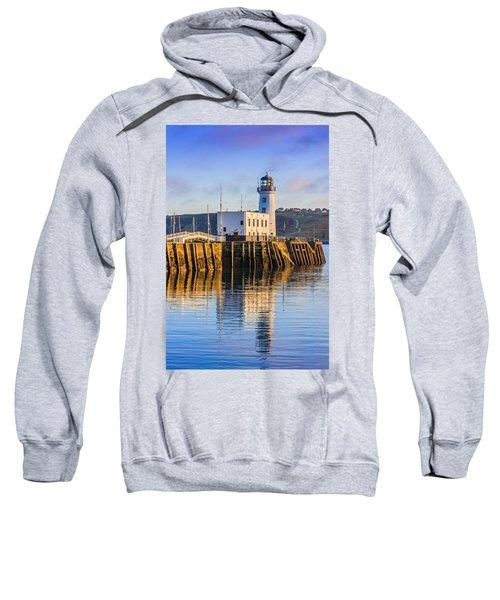 Sunset Over Scarborough Lighthouse Sweatshirt