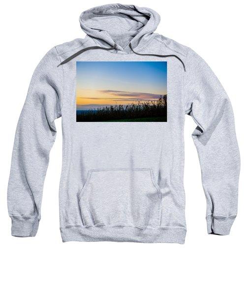 Sunset Over The Field Sweatshirt
