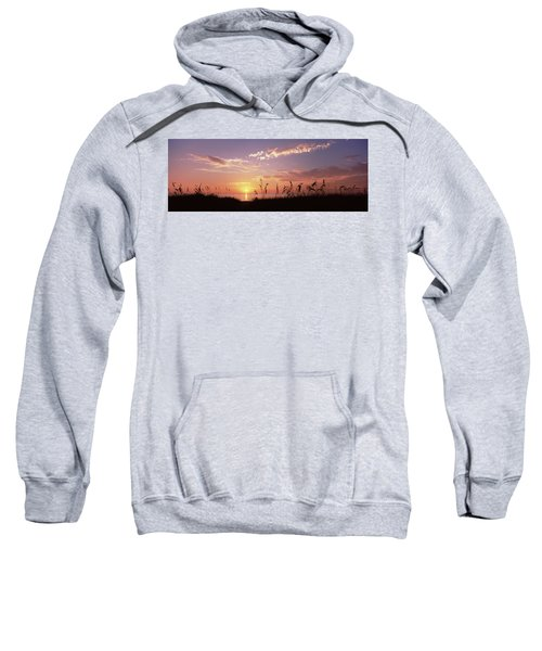 Sunset Over The Sea, Venice Beach Sweatshirt