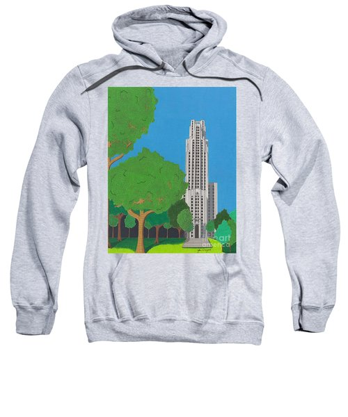 The Cathedral Of Learning Sweatshirt