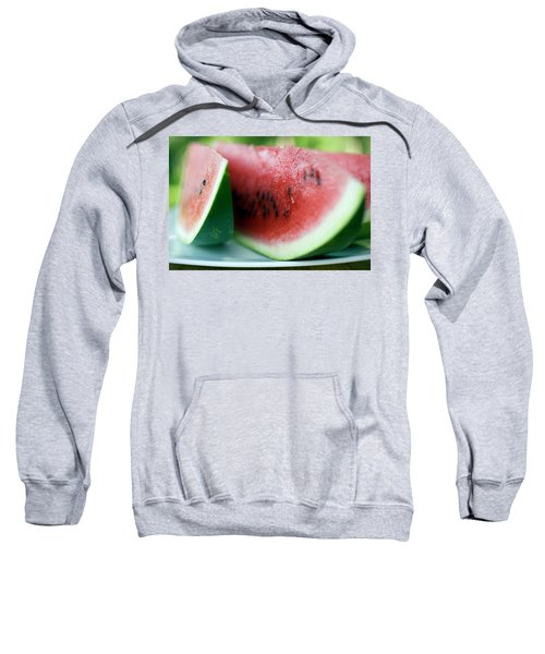 Three Slices Of Watermelon Sweatshirt