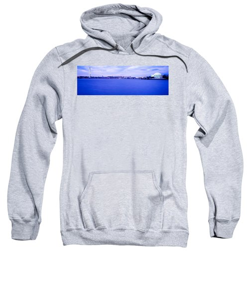 Tidal Basin Washington Dc Sweatshirt by Panoramic Images