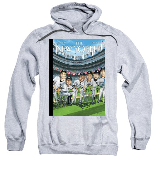 New Yorker April 8th, 2013 Sweatshirt