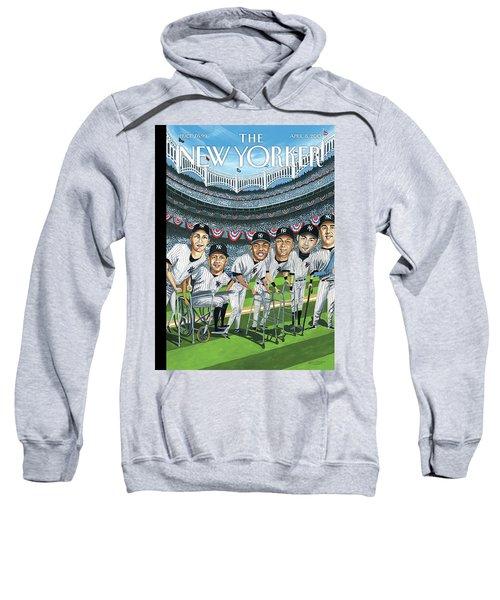 New Yorker April 8th, 2013 Sweatshirt