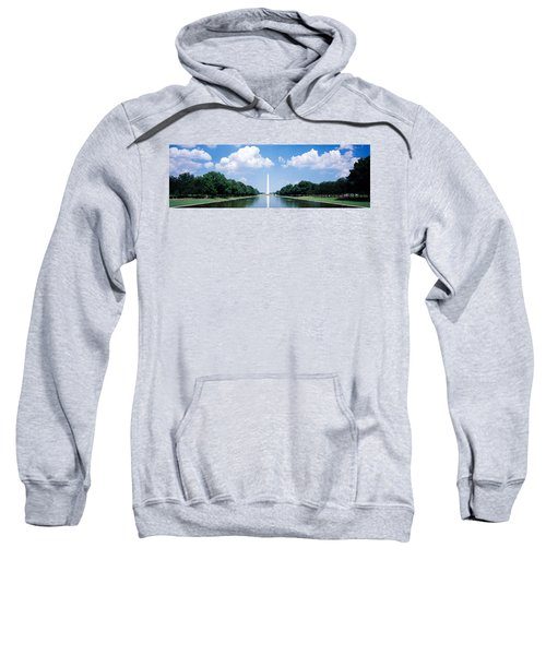Washington Monument Washington Dc Sweatshirt by Panoramic Images