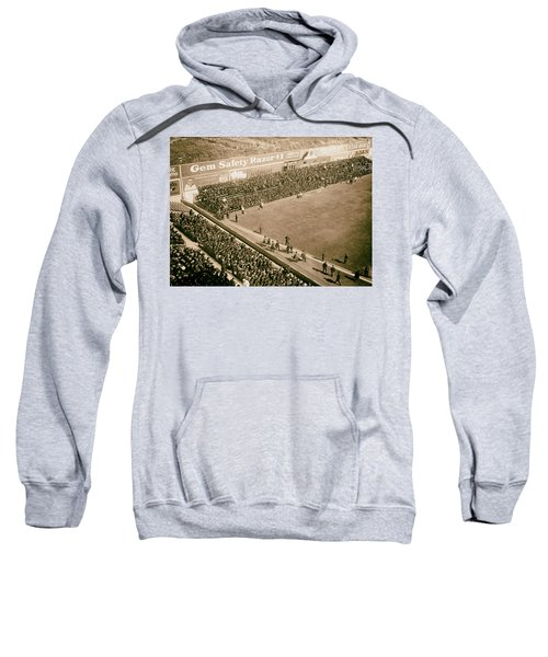 World Series Crowd At Ebbets Field Brooklyn 1920 Sweatshirt