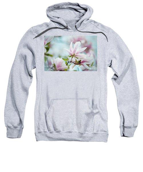 Magnolia Flowers Sweatshirt