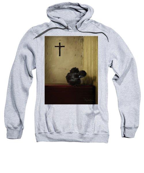 16. Black Silkie Sweatshirt