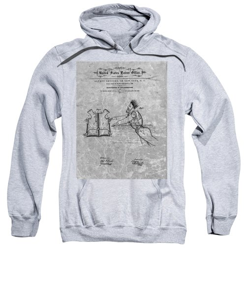 1869 Life Preserver Patent Charcoal Sweatshirt