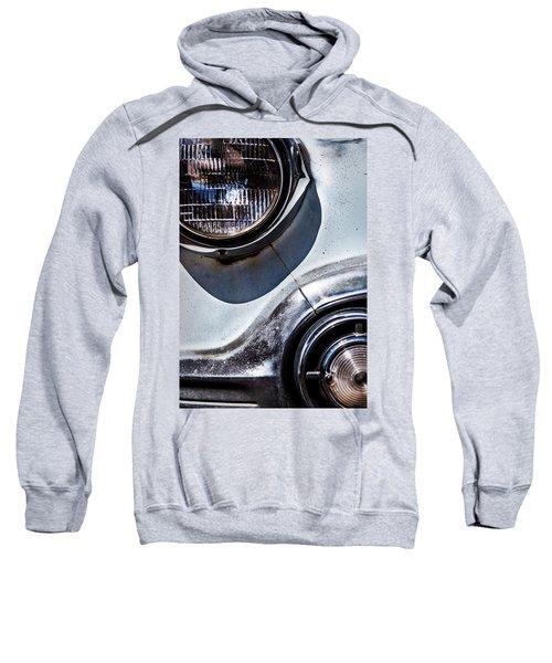 1953 Chevy Headlight Detail Sweatshirt