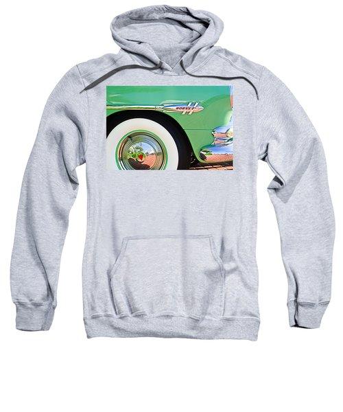 1953 Hudson Hornet Sedan Wheel Emblem Sweatshirt