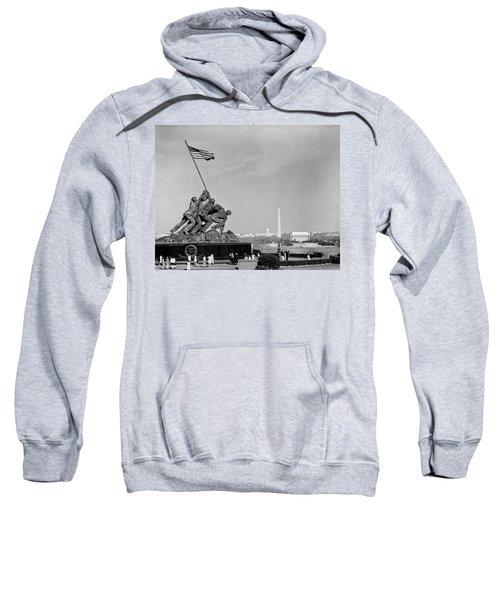 1960s Marine Corps Monument Sweatshirt