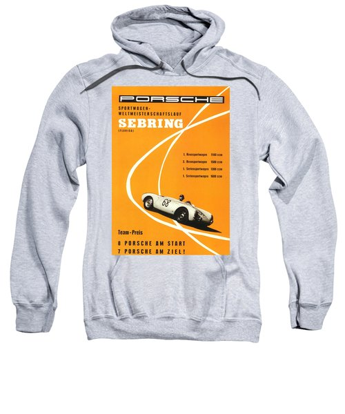 1968 Porsche Sebring Florida Poster Sweatshirt