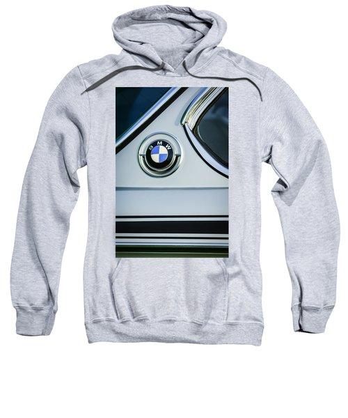 1973 Bmw 3.0 Csl Side Emblem -1278c Sweatshirt