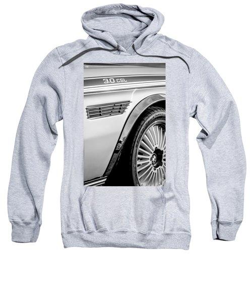 1973 Bmw 3.0 Csl Side Emblem - Wheel Emblem -1294bw Sweatshirt