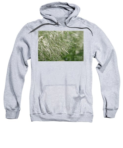 Brome Grass In The Hay Field Sweatshirt