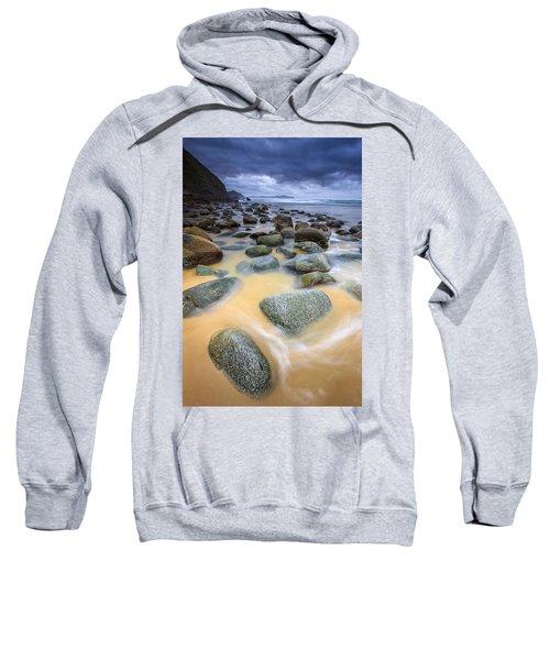 Campelo Beach Galicia Spain Sweatshirt