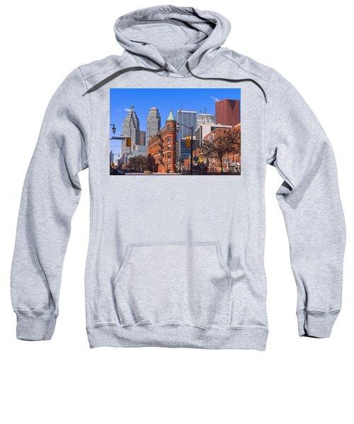Flatiron Building In Toronto Sweatshirt
