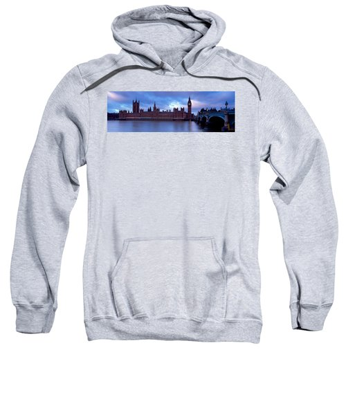 Government Building At The Waterfront Sweatshirt