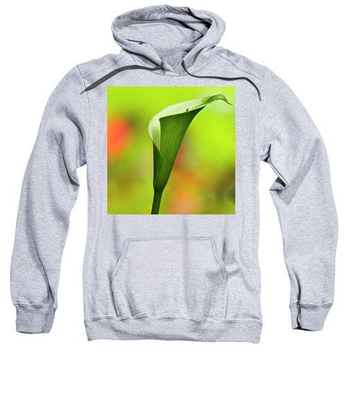 Green Calla Lily Sweatshirt