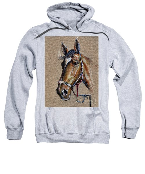 Horse Face - Drawing  Sweatshirt