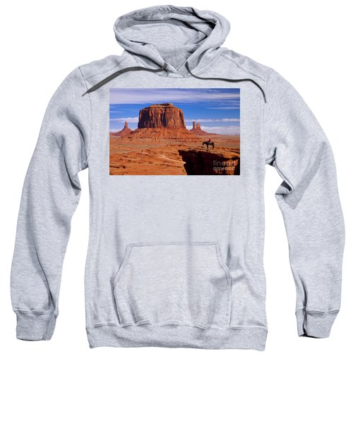 John Ford Point Monument Valley Sweatshirt