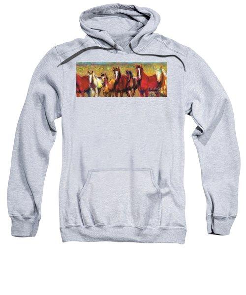 Mares And Foals Sweatshirt