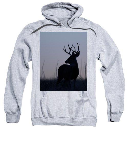 Mule Deer Buck At Sunset Sweatshirt