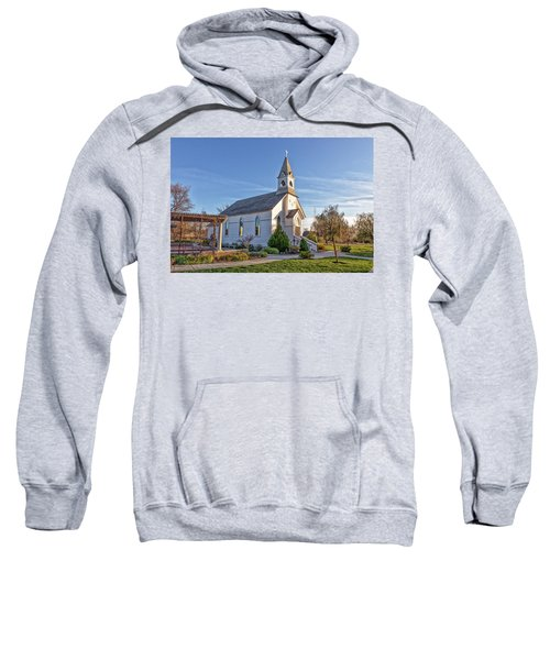 Sweatshirt featuring the photograph St. Mary's Chapel by Jim Thompson