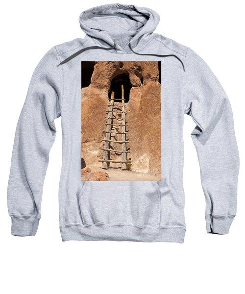 Talus House Front Door Bandelier National Monument Sweatshirt