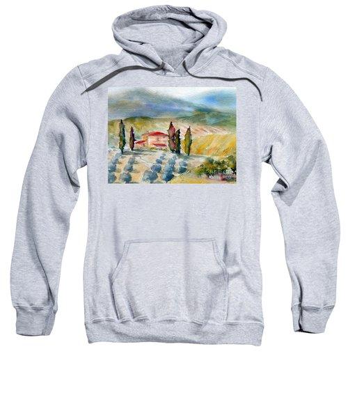 Tuscan Landscape Sweatshirt
